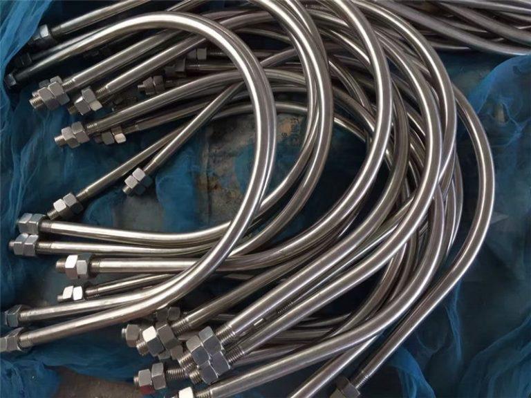 aleación825 es 2.4858 perno en U de acero inoxidable aleación718 en2.4668 de china