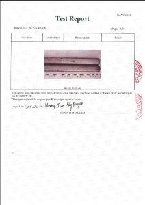 Certificado para A453 660B 3
