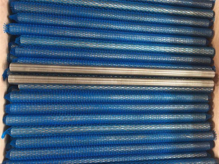 aleación de níquel inconel601 / 2.4851 varilla roscada trapezoidal nuevos productos