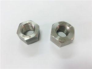 No.108-Sujetadores de aleación especial del fabricante tuercas Hastelloy C276