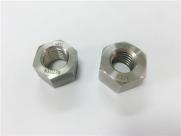 fabricante de cierres de aleación especial tuercas hastelloy c276