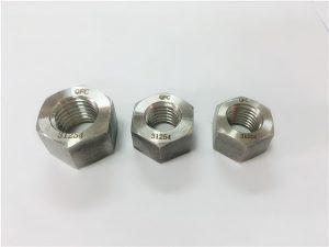 No.109-S31254 A193 B8MLCuN tuercas hexagonales pesadas