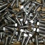 perno hexagonal din931 de acero inoxidable 316 de fijación personalizada con buen precio