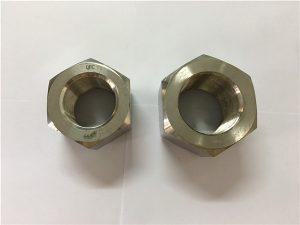 No.111-Fabricación de aleación de níquel A453 660 1.4980 tuercas hexagonales