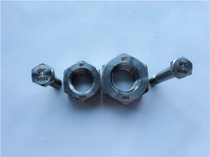 No.24-Alloy 660 Pernos hexagonales, sujetadores