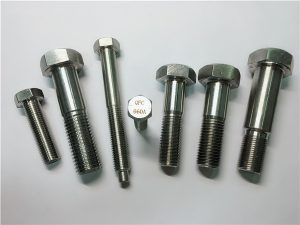 No.25-Incoloy pernos hexagonales a286 1.4980 sujetadores a286 gh2132 fijaciones de tornillo de máquina de hardware de acero inoxidable
