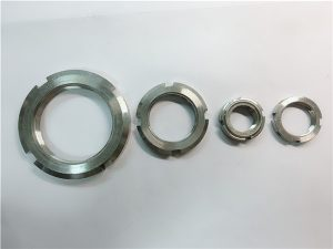 No.33-China proveedor tuerca redonda de acero inoxidable a medida