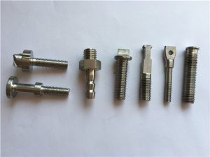 Perno de bicicleta de máquina CNC de oro de titanio n. ° 40