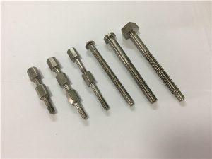 No.41-CNC pieza de máquina de titanio perno y tuerca