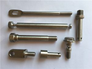 No.42-recision Sujetadores de acero inoxidable CNC Torneado de sujetadores de metal