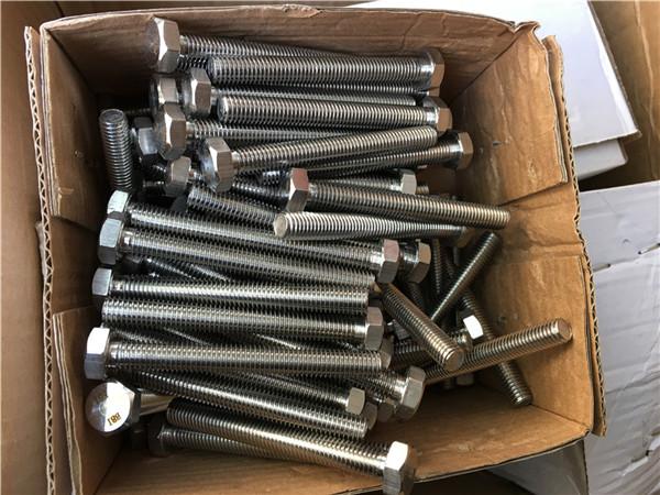 310s / 1.4845 sujetadores especiales de acero inoxidable arandela de tuerca hexagonal m24 * 80 mm