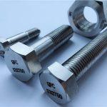 aleación de níquel acero monel400 precio por kg tuercas de perno prisionero tornillo fijación en2.4360