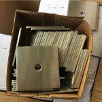 Arandela / sujetador de placa cuadrada de acero inoxidable super duplex s32205 (f60) personalizado