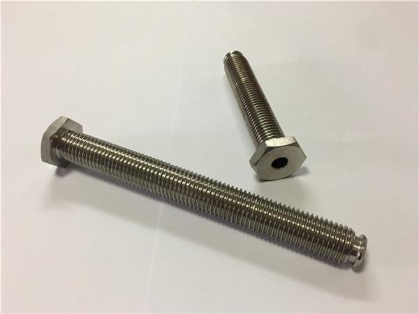 venta de proveedores de sujetadores de titanio ti6al4v gr5 perno de rueda de titanio u otro hardware