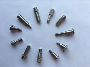 No.65-Perno de eje de sujetadores de titanio, Pernos de motocicleta de bicicleta de titanio, Piezas de aleación de titanio