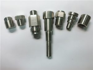 No.67-Cierres de acero inoxidable de máquina de torno OEM de alta calidad hechos de mecanizado CNC