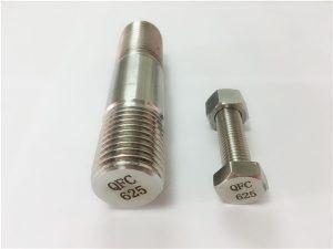 No.71-625 sujetadores inconel en níquel
