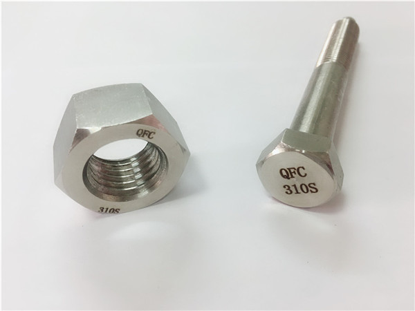tornillo y tuerca china ss310s