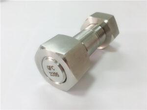 No.75 - Perno prisionero de acero inoxidable dúplex 2205 de alta calidad