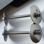 ss310 / ss310s astm f593 sujetador, pernos de acero inoxidable, tuercas y arandelas