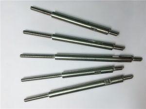 Cnc mecanizado de precisión de acero inoxidable sujetadores roscados