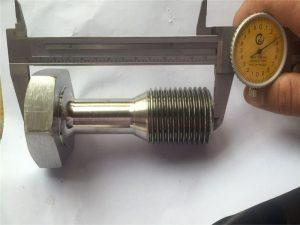 Piezas torneadas cnc personalizadas mecanizado de precisión tornillo sujetador