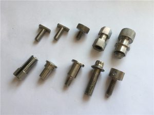 Tornillo no estándar de alta precisión personalizado, tornillo de mecanizado cnc de acero inoxidable