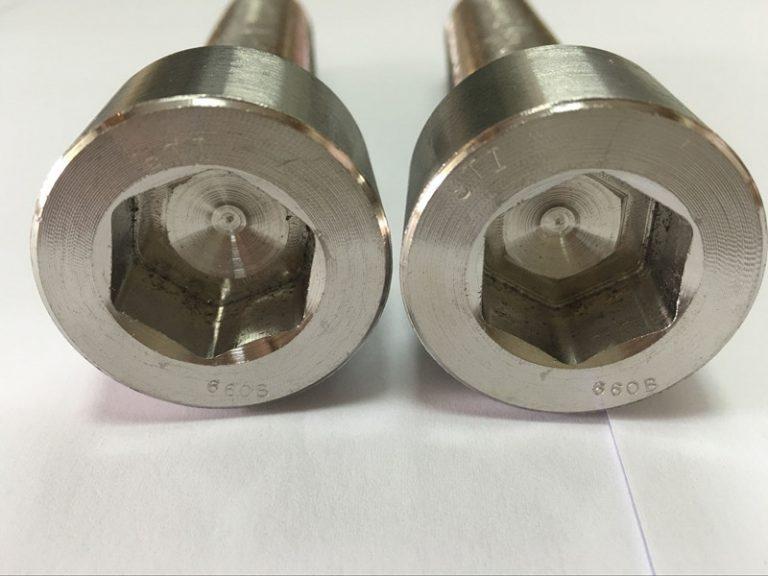 fabricantes de sujetadores DIN 6912 perno de cabeza hexagonal de titanio