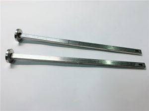 proveedor de sujetadores de hardware cabeza plana de acero inoxidable 316 cuello cuadrado din603 m4 perno de carro