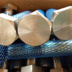 suministro grande sujetadores mecánicos de alta resistencia perno hexagonal pesado y tuerca